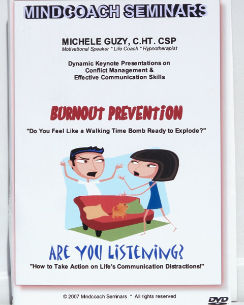 Seminars on Burnout Prevention & Communication 2 DVD's